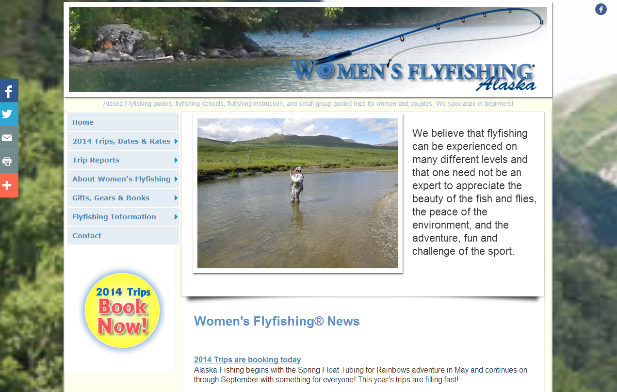 Women's Flyfishing